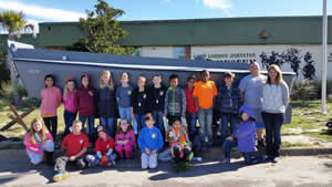 Apalachicola Bay Charter School Fourth Grade Visit CGJM